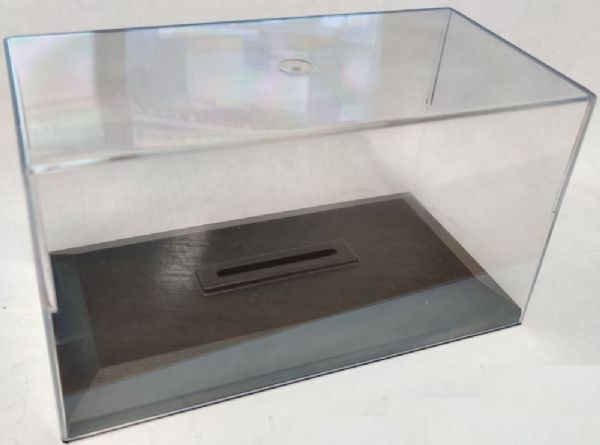 Cararama 1/43 Scale Empty Display Case for 1/43 Car or 1/76 Bus or Truck Slot TALL CASES